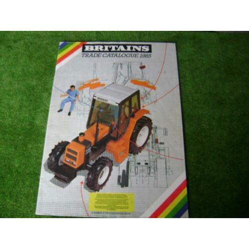 Britains catalogus uit 1985 in A4 formaat
