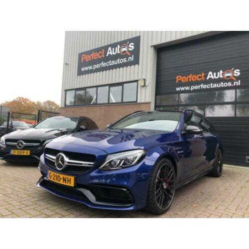 Mercedes-Benz C-Klasse Estate 63 AMG S 510pk Pano/open dak,