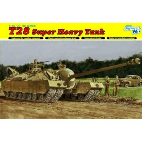 Dragon T28 superheavy tank