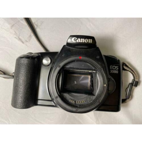 Canon EOS 3000 vintage SLR film camera analog