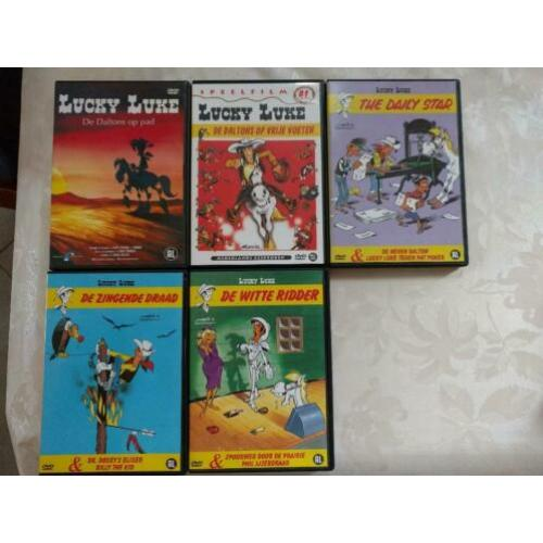 Lucky Luke DvDs