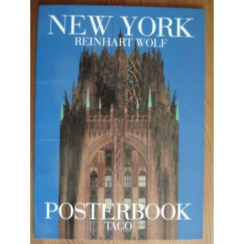 Posterbook - New York - Reinhart Wolf