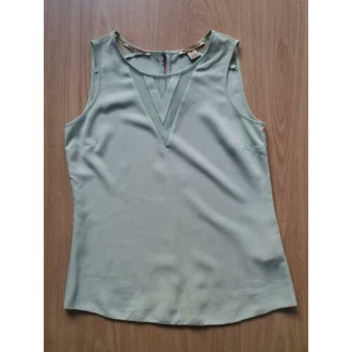 Maison Scotch mint top maat XS