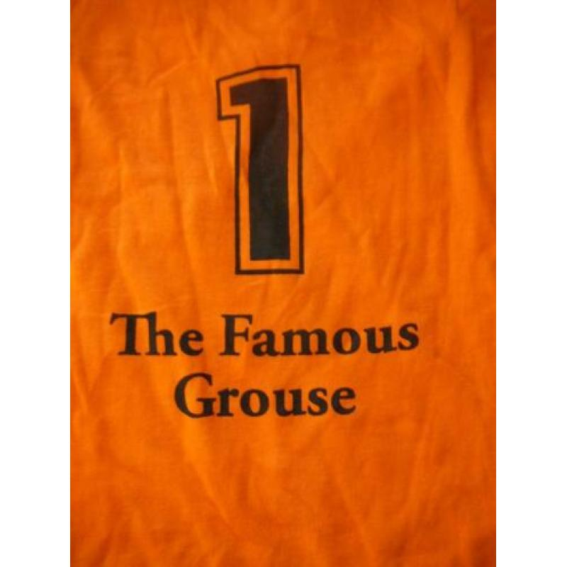 oranje shirt the famous Grouse Scotland's favourite whisky